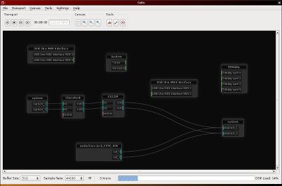 Capture d'écran de l'application Catia.