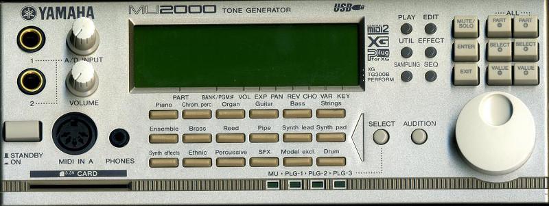 Un Expandeur Yamaha MU 2000