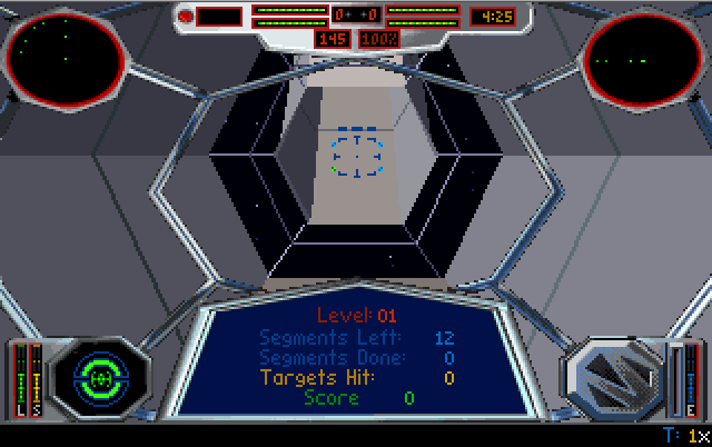 Capture d'écran du jeu Tie Fighter